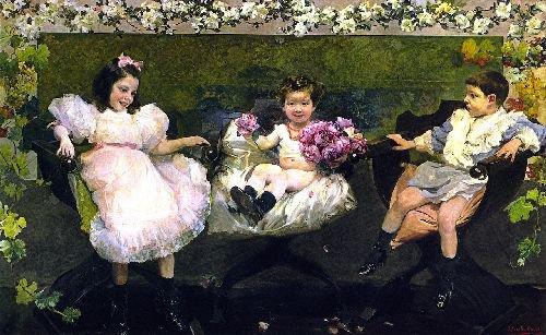 My Kids | Joaquin Sorolla y Bastida | oil painting