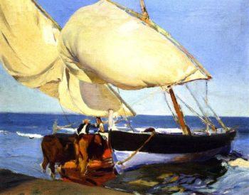 Sails | Joaquin Sorolla y Bastida | oil painting