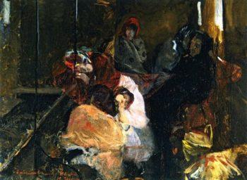 White Slave Trade   Joaquin Sorolla y Bastida   oil painting