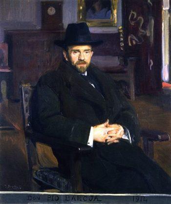 Don Pio Baroja | Joaquin Sorolla y Bastida | oil painting