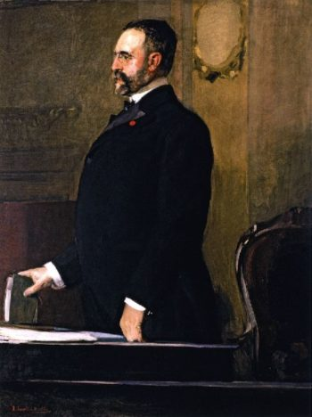 Jose Canalejas y Mendez | Joaquin Sorolla y Bastida | oil painting