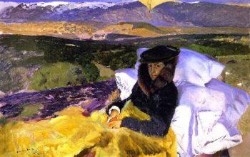My Daughter's Convalescence | Joaquin Sorolla y Bastida | oil painting