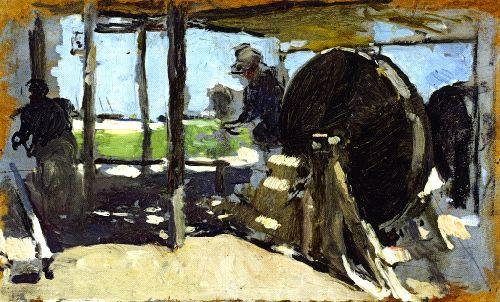 Rope Makers Valencia 1 | Joaquin Sorolla y Bastida | oil painting
