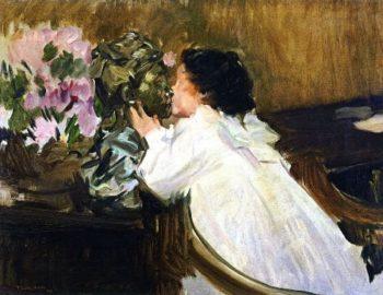 The Kiss | Joaquin Sorolla y Bastida | oil painting