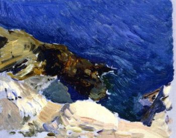 The Sea at Ibiza | Joaquin Sorolla y Bastida | oil painting