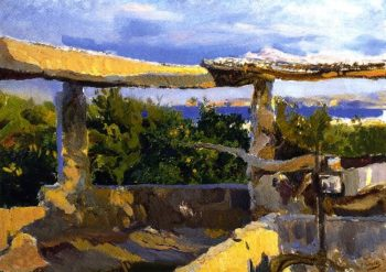 Noria Javea | Joaquin Sorolla y Bastida | oil painting