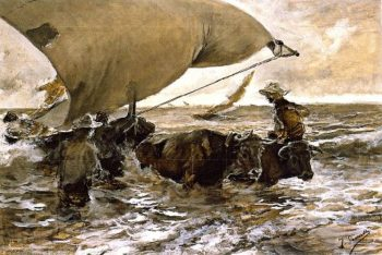 The Return from Fishing 3 | Joaquin Sorolla y Bastida | oil painting