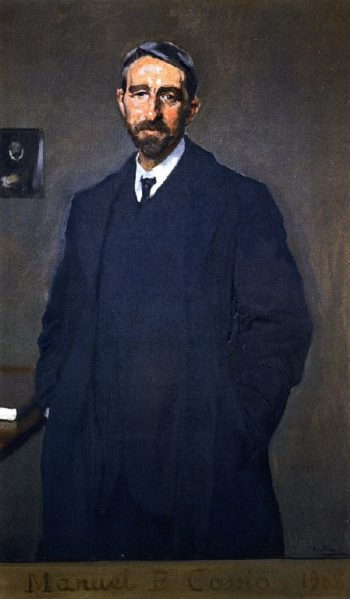 Manuel B Cossio | Joaquin Sorolla y Bastida | oil painting
