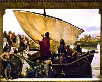 Yo soy el pan de la vida | Joaquin Sorolla y Bastida | oil painting