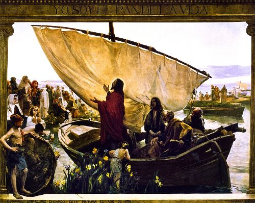 Yo soy el pan de la vida   Joaquin Sorolla y Bastida   oil painting