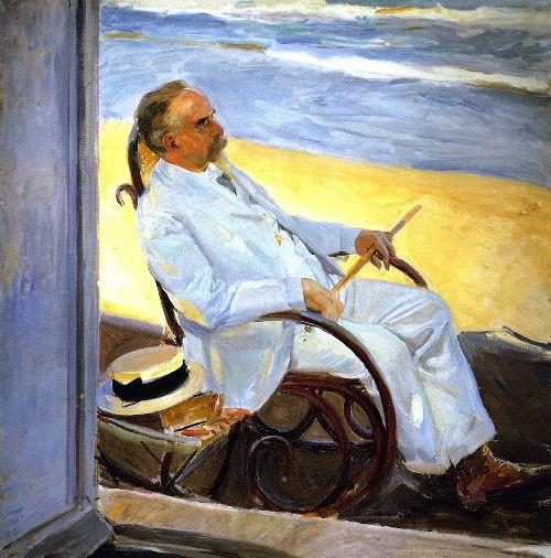 Antonio Garcia at the Beach | Joaquin Sorolla y Bastida | oil painting