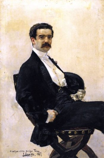 Juan Antonio Garcia del Castillo | Joaquin Sorolla y Bastida | oil painting