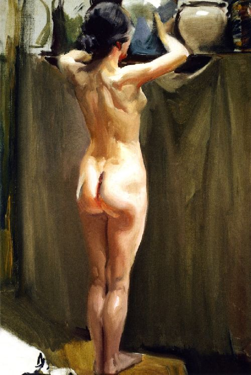 For the painting of a naked woman monet opinion