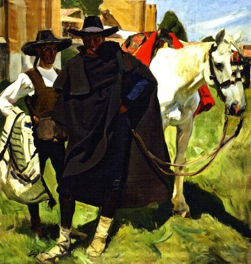 Avila Types | Joaquin Sorolla y Bastida | oil painting