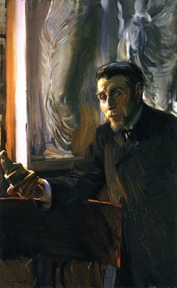 Jose Ramon Melida y Alinari | Joaquin Sorolla y Bastida | oil painting
