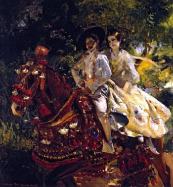 Grupa valenciana   Joaquin Sorolla y Bastida   oil painting