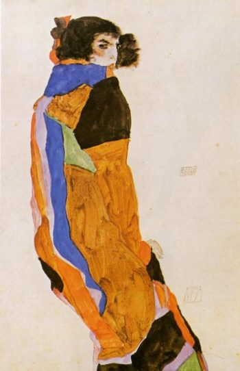 The Dancer Moa | Egon Schiele | oil painting