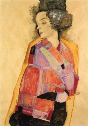 The Daydreamer | Egon Schiele | oil painting