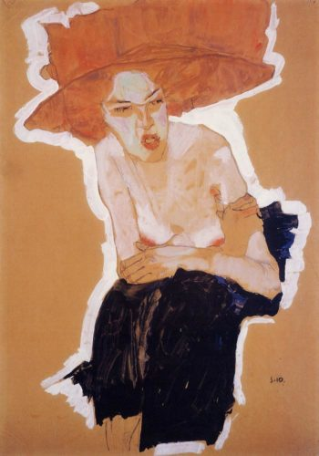 The Scornful Woman | Egon Schiele | oil painting
