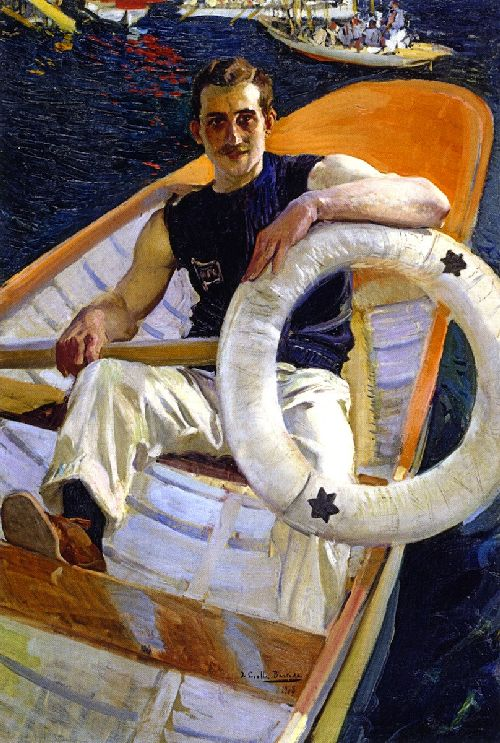 Remero | Joaquin Sorolla y Bastida | oil painting