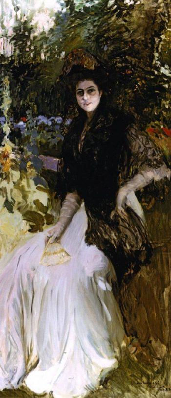 Maria Planas de Gil | Joaquin Sorolla y Bastida | oil painting
