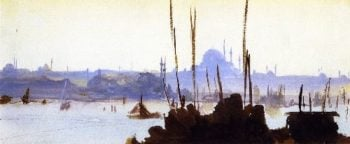 Constantinople | John Singer Sargent | oil painting