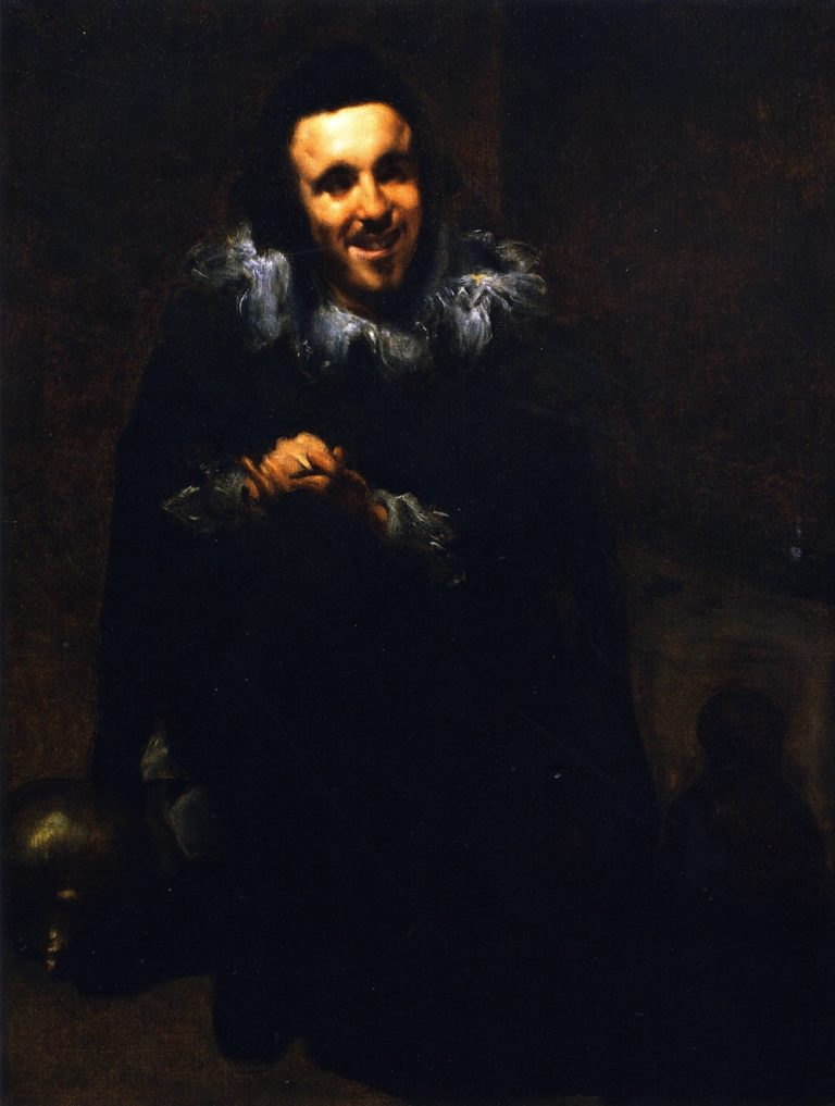 Buffoon Juan Calabazas | John Singer Sargent | oil painting