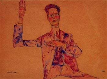 Willy Lidl | Egon Schiele | oil painting