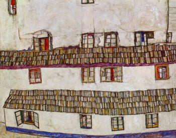 Windows | Egon Schiele | oil painting
