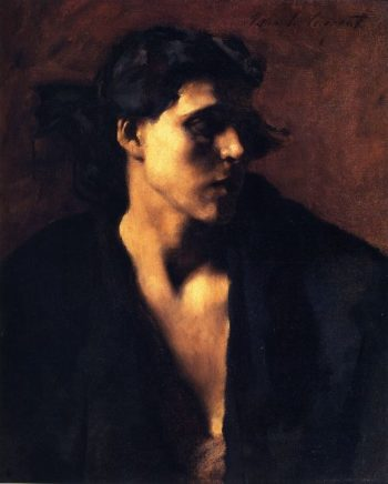 Study of a Model | John Singer Sargent | oil painting