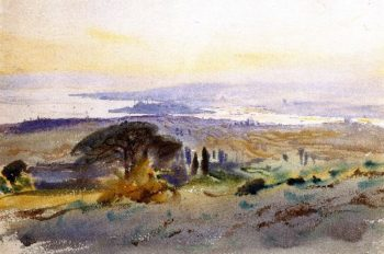 Stambul | John Singer Sargent | oil painting