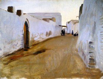 Street Scene | John Singer Sargent | oil painting