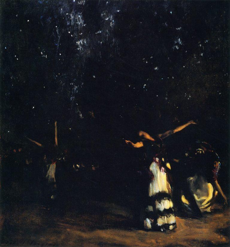 The Spanish Dancer | John Singer Sargent | oil painting