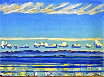 On Lake Geneva | Ferdinand Hodler | oil painting