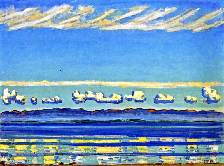 On Lake Geneva | Ferdinand Hodler | oil painting