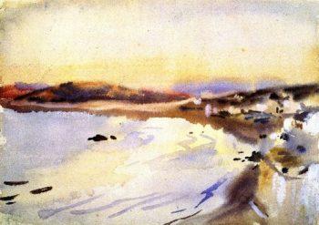 Tangier | John Singer Sargent | oil painting