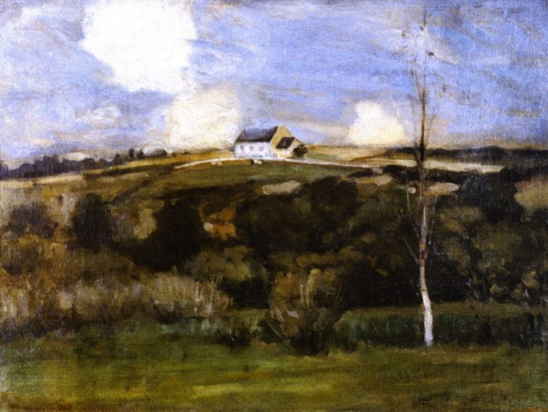 Brittany Landscape | Frederick C Frieseke | oil painting