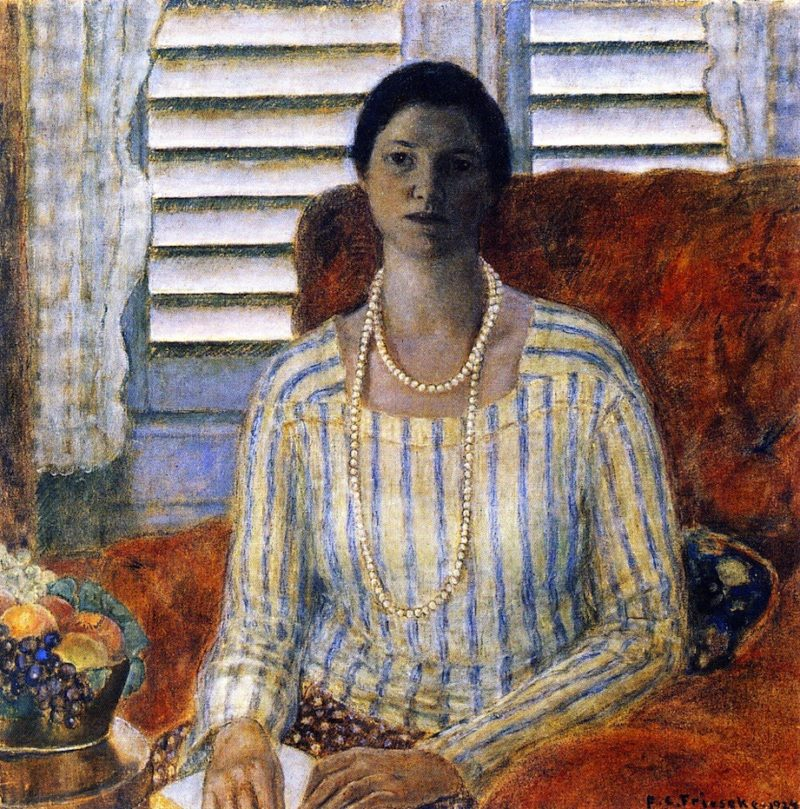 Closed Blinds | Frederick C Frieseke | oil painting