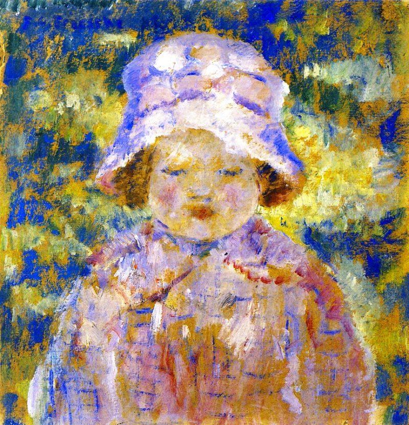 Frances   Frederick C Frieseke   oil painting