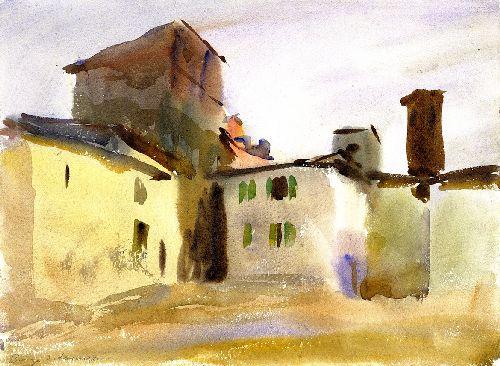 Bordo San Lorenzo | John Singer Sargent | oil painting
