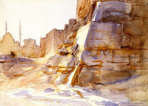 Cairo   John Singer Sargent   oil painting