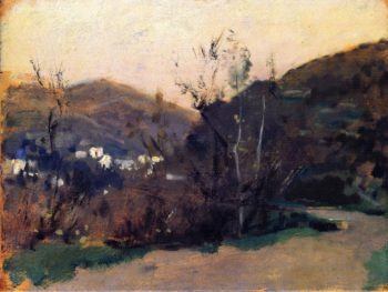 Spanish or Moorish Landscape | John Singer Sargent | oil painting