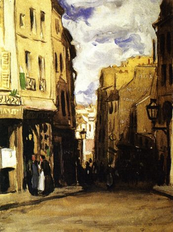 Montparnasse Landscape | Frederick C Frieseke | oil painting