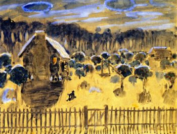 NIght Orange Grove | Frederick C Frieseke | oil painting