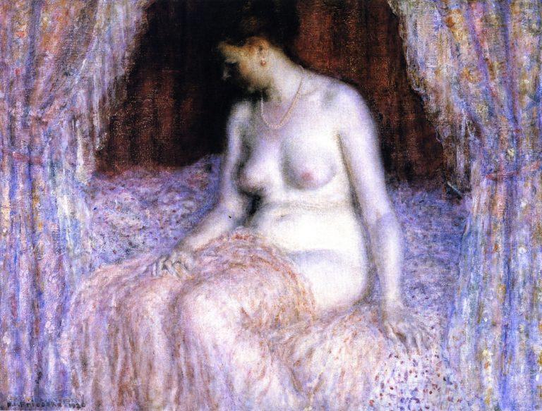 Seated Nude | Frederick C Frieseke | oil painting