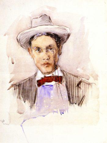 Self Portrait | Frederick C Frieseke | oil painting
