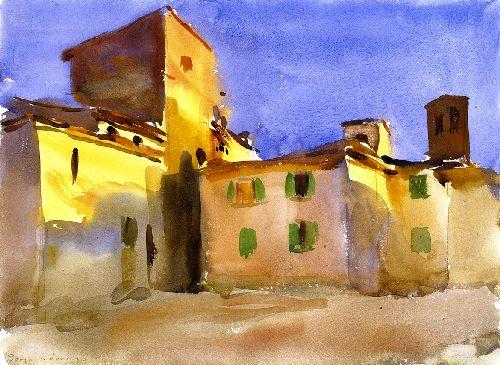 Borgo San Lorenzo | John Singer Sargent | oil painting