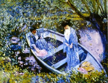 Under the Willows | Frederick C Frieseke | oil painting