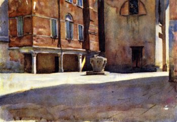 Campo San Canciano Venice | John Singer Sargent | oil painting