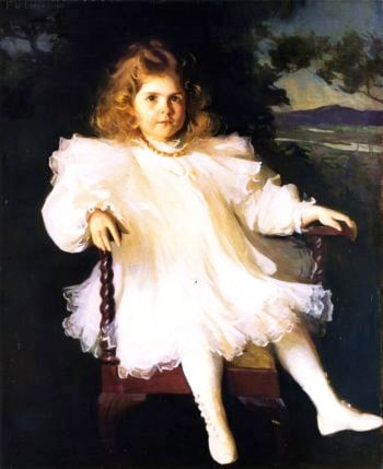 Miss Westinghouse | Frank W Benson | oil painting